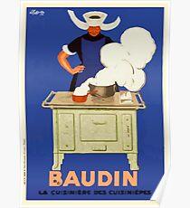 Leonetto Cappiello Affiche Baudin Cappiello Poster