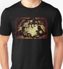 Diggers sitting around the camp fire Unisex T-Shirt