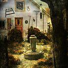 Courtyard  by John Rivera