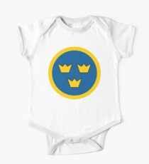 Swedish Air Force Insignia One Piece - Short Sleeve