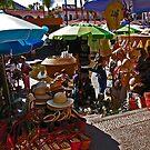 Cabo Market Place by Christine Frydenborg Dargon
