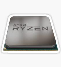 AMD Ryzen Chip Sticker