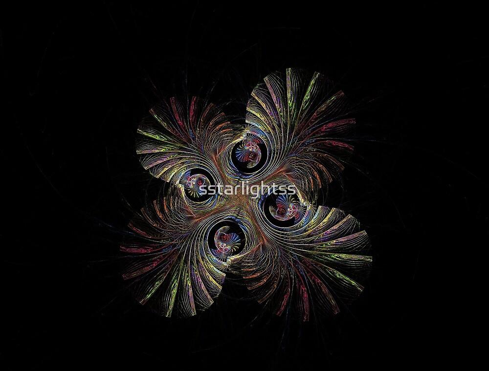Escher Palms Trees and Shells by sstarlightss