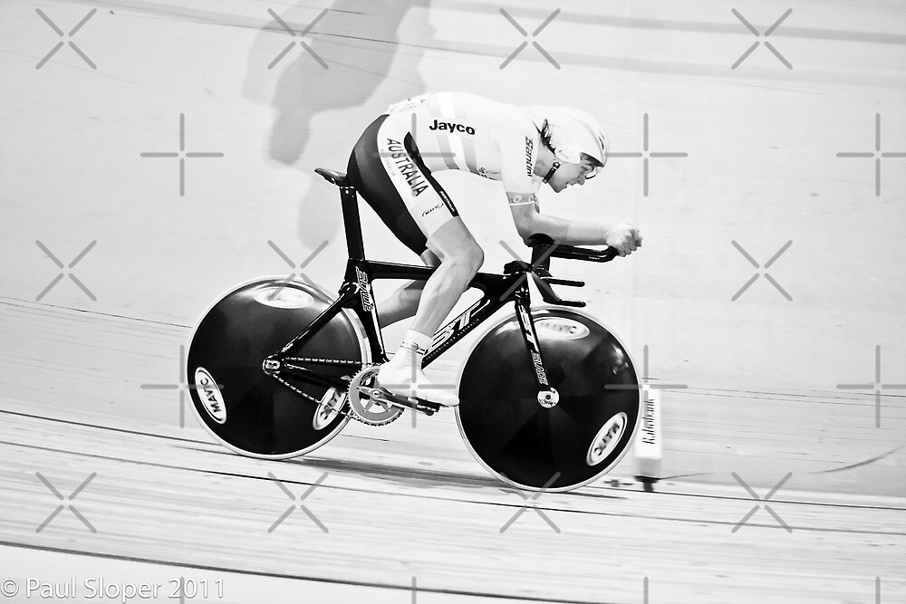 Michael Freiberg 2011 World Track Omnium Champion by Paul  Sloper