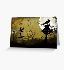 Nightbirds Greeting Card