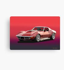 1969 Corvette Stingray Canvas Print