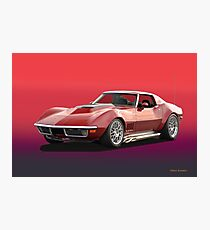 1969 Corvette Stingray Photographic Print