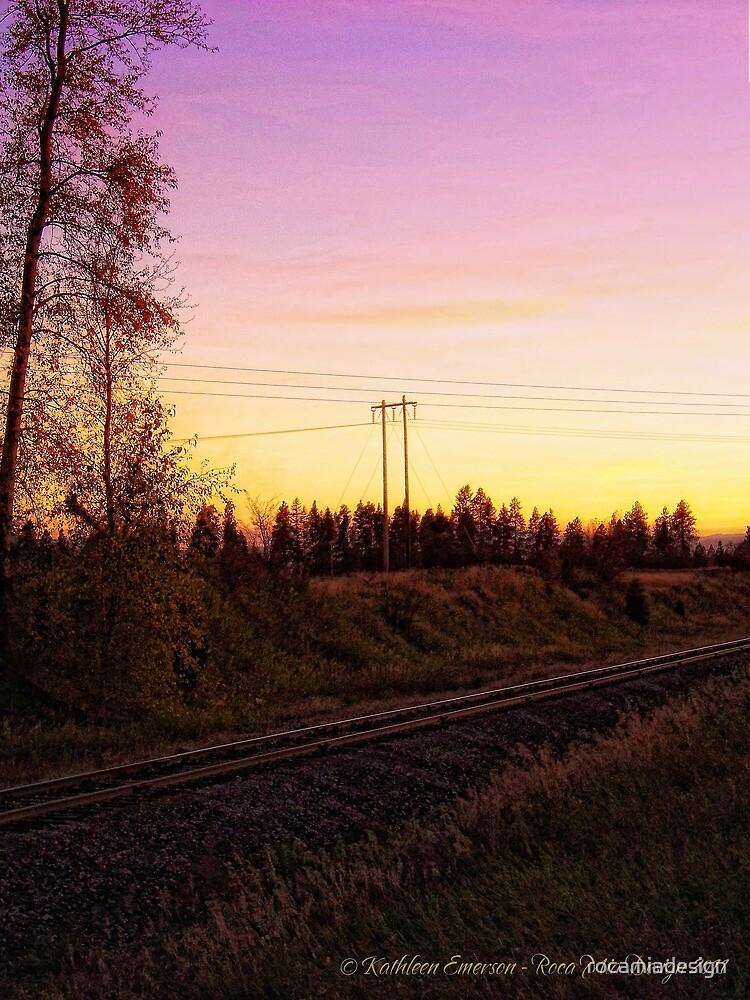 Rural Tracks (Columbia Falls, Montana, USA) by rocamiadesign