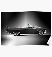 1956 Ford Thunderbird Convertible Poster
