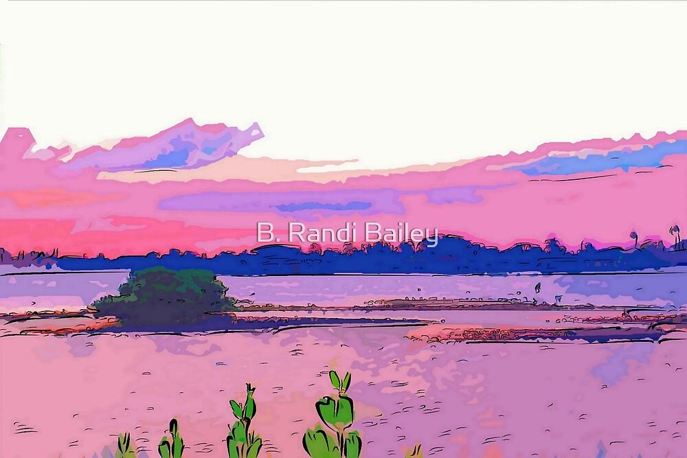 Lone mangrove island by ♥⊱ B. Randi Bailey