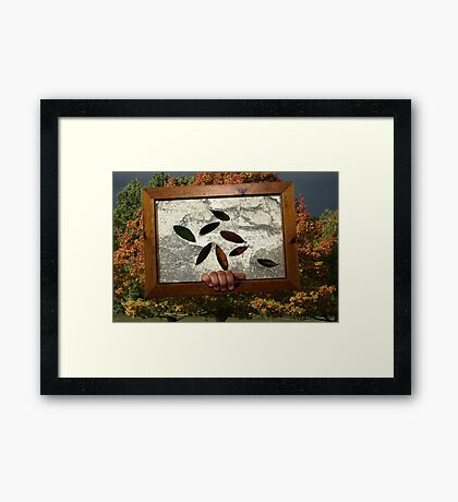 A Picture Of Autumn Framed Print