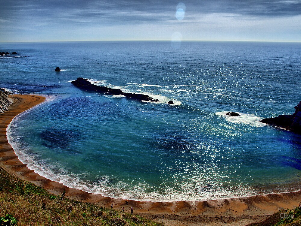 Man Of War Cove by Clive