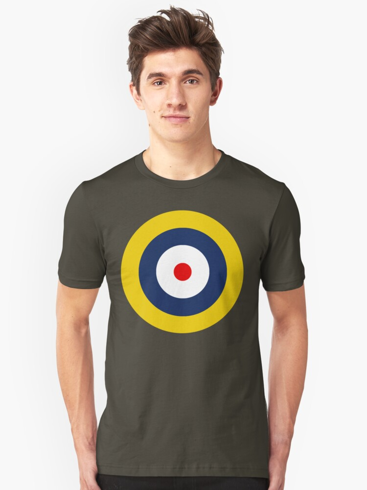 Royal Air Force A1 Insignia Unisex T-Shirt Front