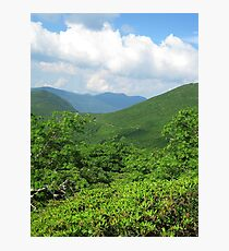 Mountains and Sky - Blue Ridge Photographic Print