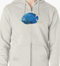 French Angelfish Zipped Hoodie