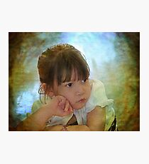 Candid Cutie Photographic Print