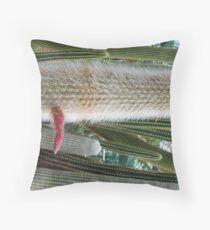 a Viagra-fertilized cactus Throw Pillow