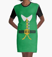 Elf Costume Graphic T-Shirt Dress