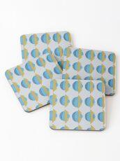 Spherical Pattern Coasters
