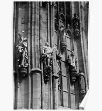 Duomo Statues, Milan, Italy 2011 Poster