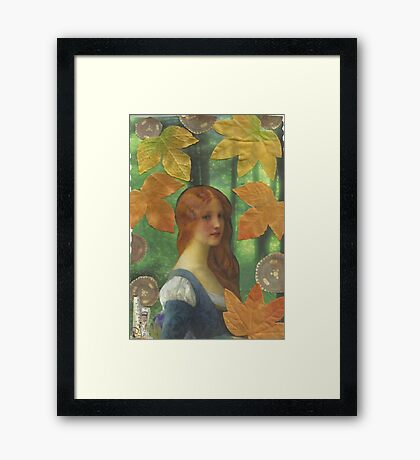 When You Knew That It Was Over.. Framed Print