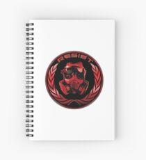 Resist - HK Spiral Notebook