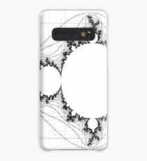Transparent (For stickers)  - Linear Mandelbrot Case/Skin for Samsung Galaxy