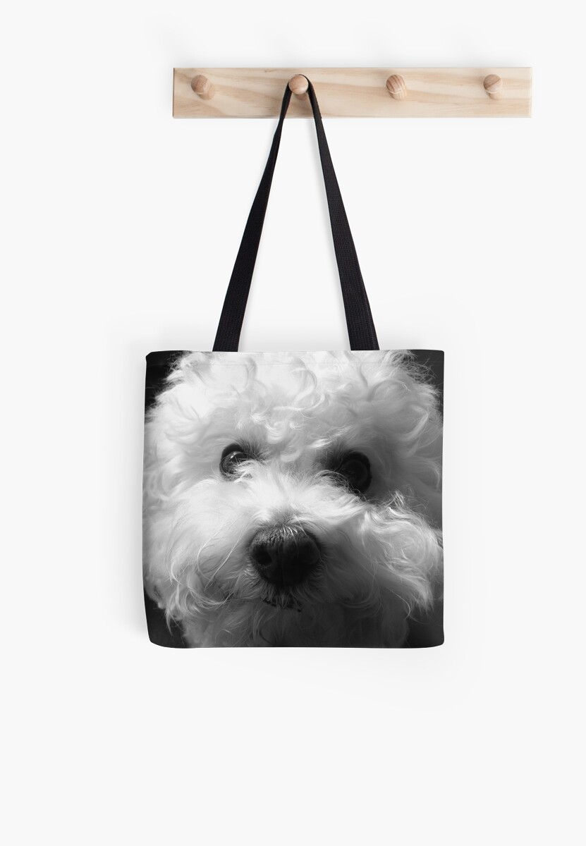 Bichon Frise - Black and White Tote Bag