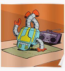 BreakBot the Breakdancing Robot Poster