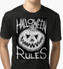 Halloween Rules #1  Tri-blend T-Shirt