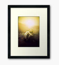 THE RISING SUN Framed Print