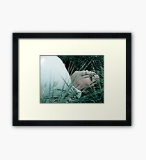 She Breathes No More Framed Print