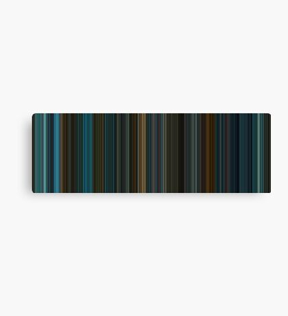 Moviebarcode: Blade Runner (1982) [Simplified Colors] Canvas Print