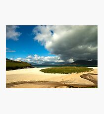 Snake in the sand Photographic Print