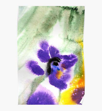 Violet Beauty Poster