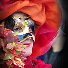 Lady in Red  by Sunil Bhardwaj