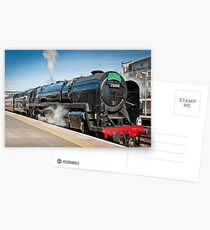 The Cathedrals Express: Steam Train. Postkarten