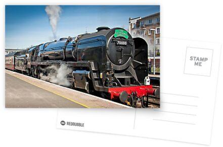 The Cathedrals Express: Steam Train. von DonDavisUK