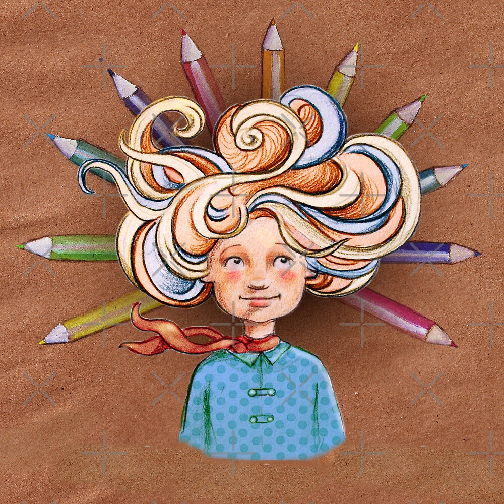 Shannan with an 'a'  by Sarah  Mac Illustration