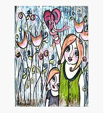 MOTHERS GIVE THEIR WHOLE HEART Photographic Print