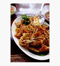 Indonesian Food Photographic Print