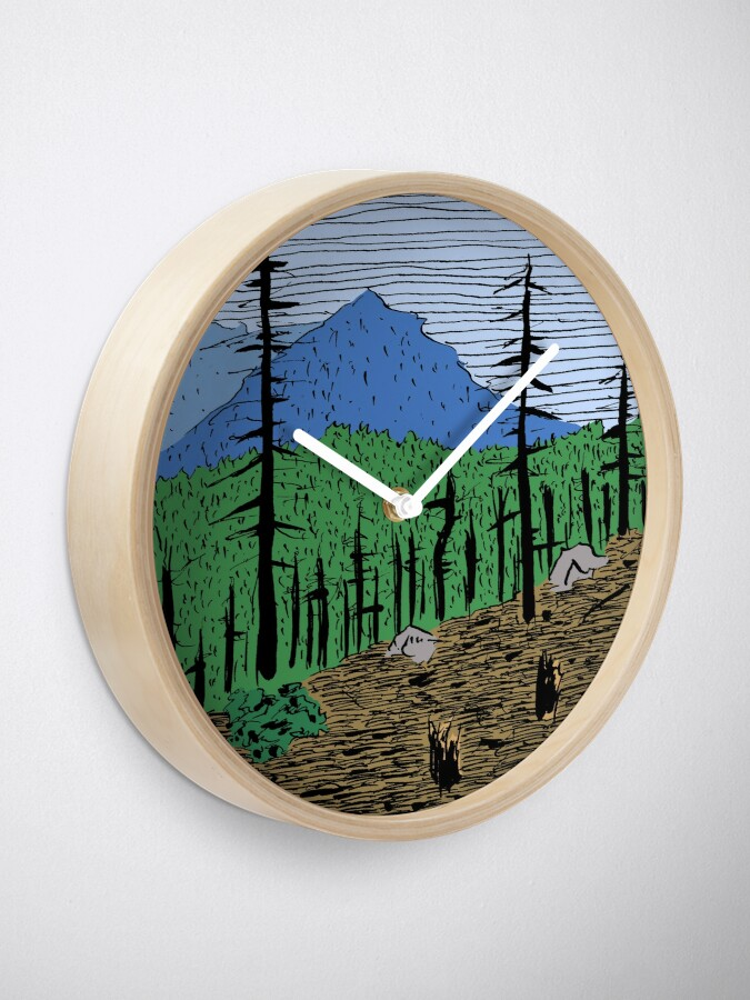 Alternate view of After Effects of a Wildfire Clock