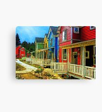 The Community Canvas Print