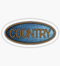 Country music Jeans & Ropes Sticker
