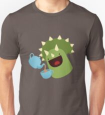 Tea-ceratops Slim Fit T-Shirt