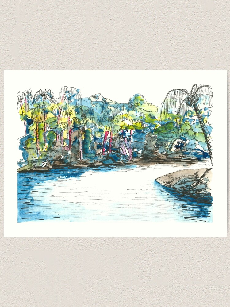 Amazonas Kunstdruck Von Jenmosh Redbubble