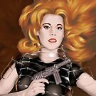 Barbarella by Charlize Cape