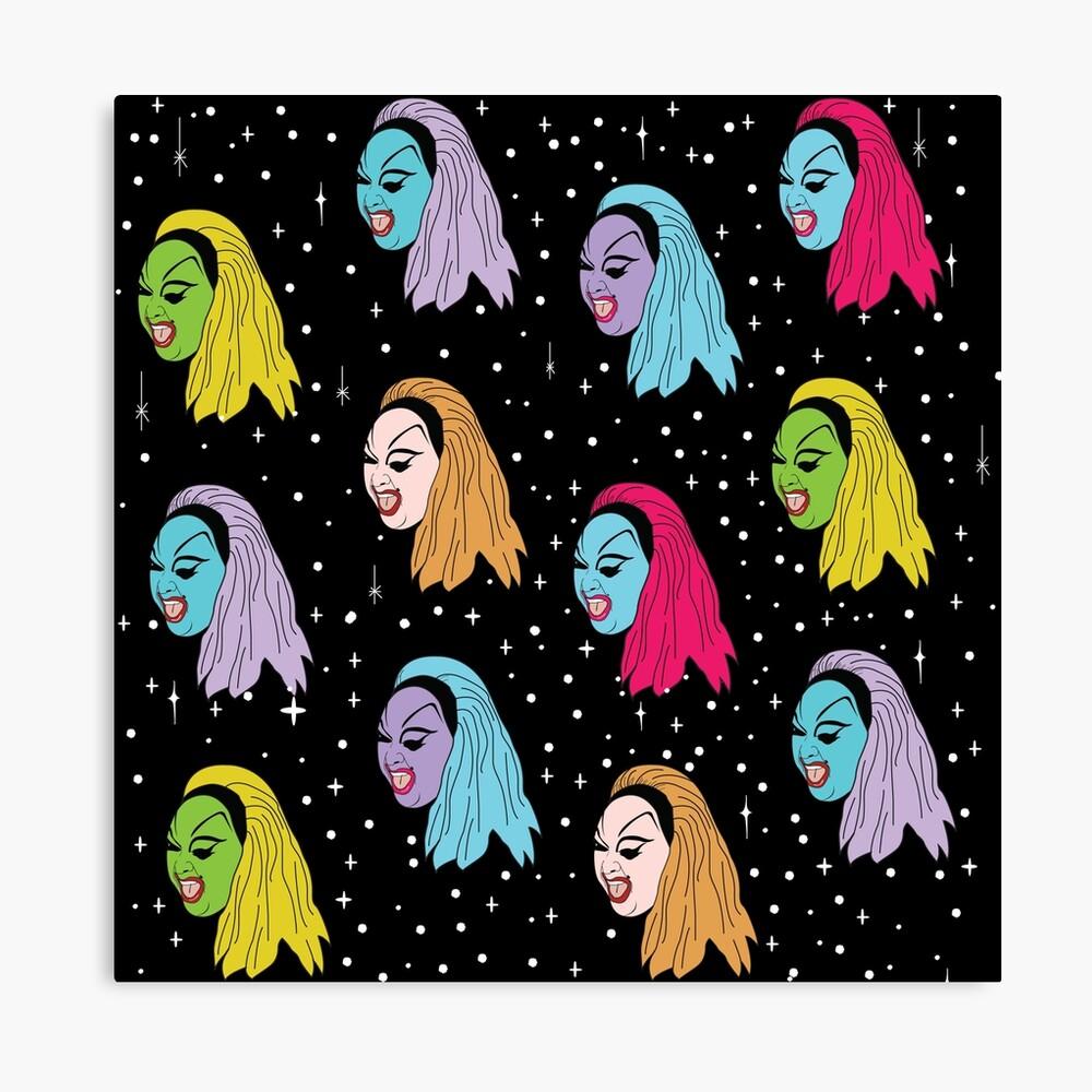 Punk Divine Canvas Print