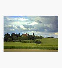 Tuscany landscapes Photographic Print