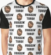 Friggin' Turd - The Last Man On Earth Graphic T-Shirt
